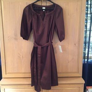 NWT Women's brown Merona dress size L